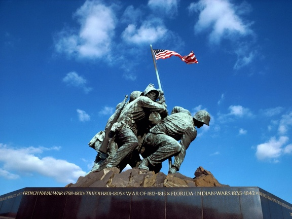 Free Memorial Day PowerPoint Background 10